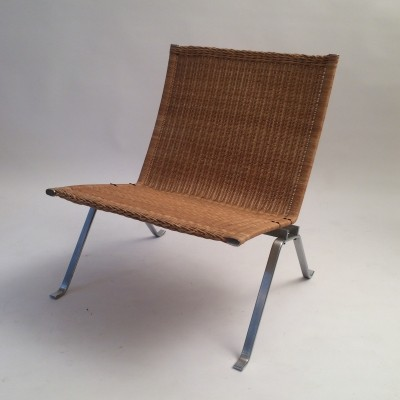 PK22 lounge chair by Poul Kjærholm for Fritz Hansen, 1990s
