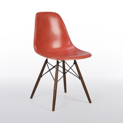 Original Herman Miller Salmon Eames DSW Dining Side Chair