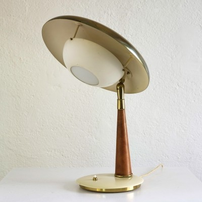 Rare table lamp by Angelo Lelli for Arredoluce