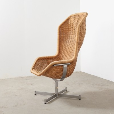 Model 736 lounge chair by Dirk van Sliedregt for Gebroeders Jonkers, 1960s