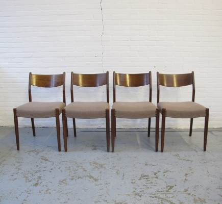 Set of 4 Fristho dinner chairs, 1960s