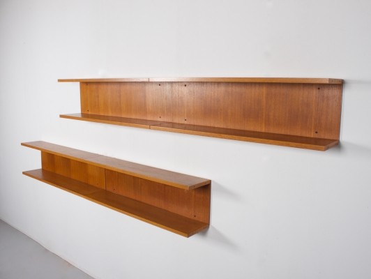 Set of 4 Twen wall units by Rego, 1960s
