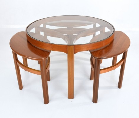 Mid-Century Modern Nesting Table by Nathan, 1960s