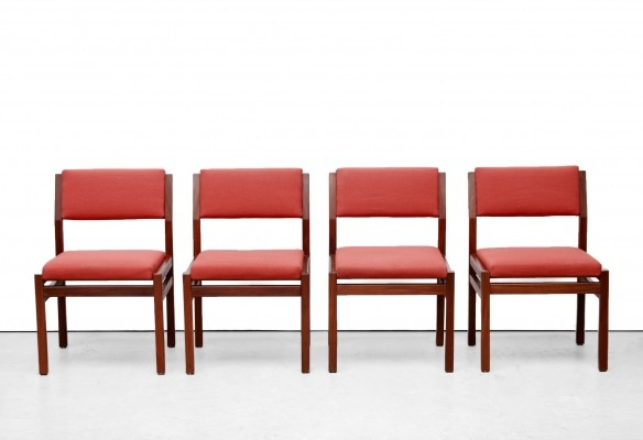 Set of four Japanese Series dining chairs by Cees Braakman for Pastoe