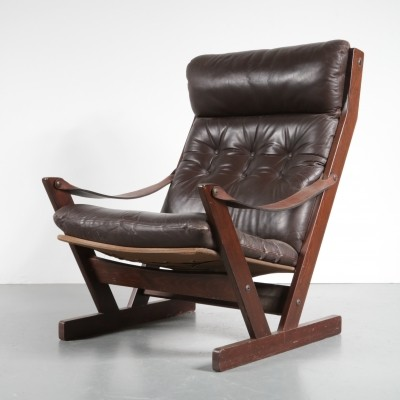Lounge chair by Torbjørn Afdal for Westnofa, 1960s