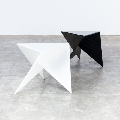 Set of 2 Ronald Willemsen coffee tables by Metaform, 1980s