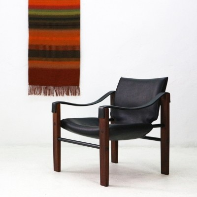 'Chelsea' Safari Chair by Maurice Burke for Arkana, Scotland