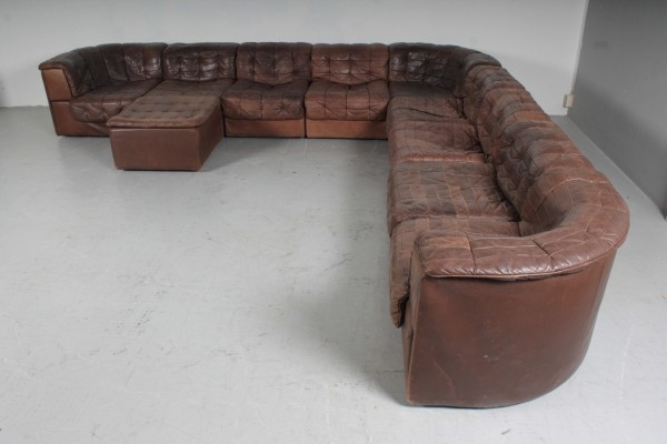 DS-11 seating group (9 pieces) by De Sede, 1960s