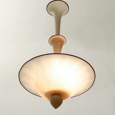 Hanging lamp by Napoleone Martinuzzi for Venini, 1930s