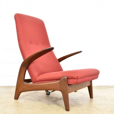 Rock 'n Rest lounge chair by Adolf Relling for Gimson & Slater, 1960s