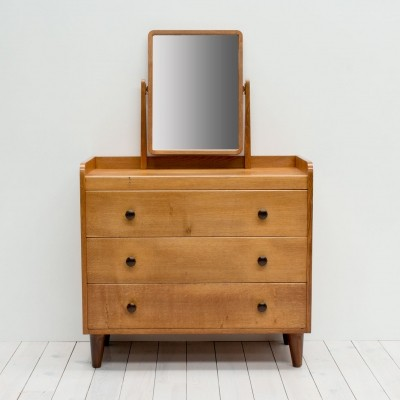 1940s Gordon Russell Oak Dressing Table