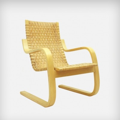 Model 406 arm chair by Alvar Aalto for Artek, 1960s