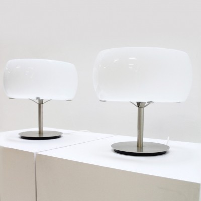 Pair of Erse table lamps by Vico Magistretti
