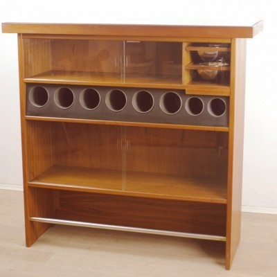 Danish Teak Dry Bar by Heltborg Mobler