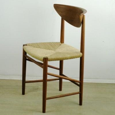 Mod. 316 Teak Dining Chair by Peter Hvidt, 1960s