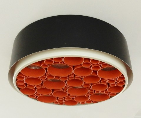 2 x P-1474 ceiling lamp by Raak Design Team for Raak Amsterdam, 1970s