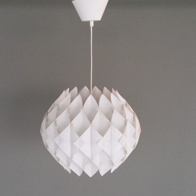 'Butterfly' lamp by Lars Schiøler for Hoyrup, 1968