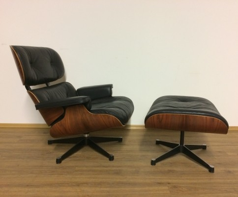 Charles Eames Lounge Chair, 1980s