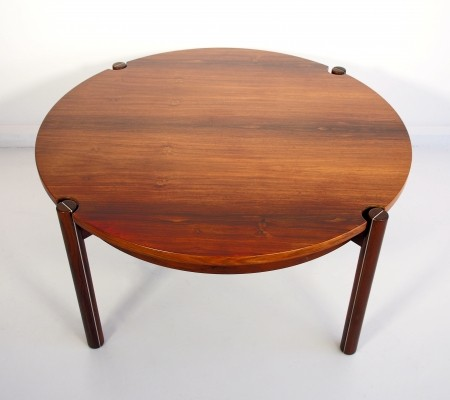 Round Mid-Century Coffee Table by Hans J. Frydendal