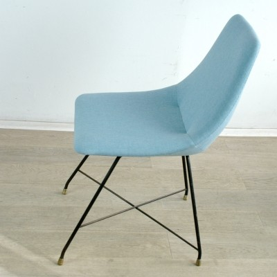 'Aster' Dining Chair by Augusto Bozzi for Saporiti