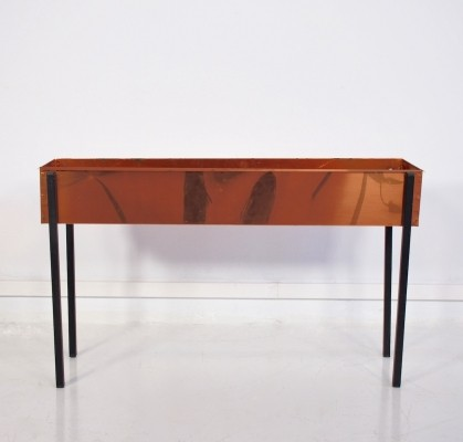 Mid-Century Copper Flower Table