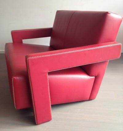 Utrecht 2 seater sofa by Gerrit Rietveld for Cassina, 1990s
