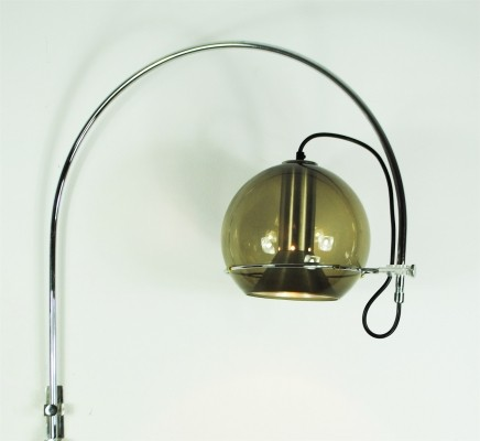 Sagittarius wall lamp by Frank Ligtelijn for Raak Amsterdam, 1970s