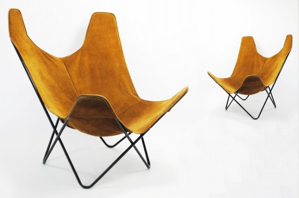 2 x lounge chair by Jorge Ferrari Hardoy for Knoll, 1970s
