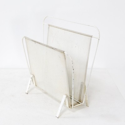 Mathieu Matégot magazine holder for Artimeta, 1950s