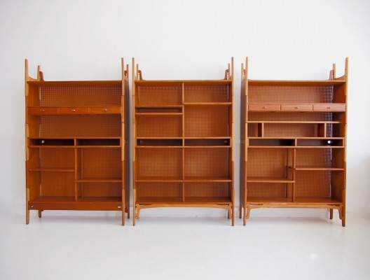 Stackable Bookcase Wall Unit by Cabinetmaker Knud Juul-Hansen