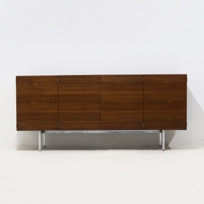 Rare Rosewood Sideboard by Herbert Hirche for Holzäpfel KG, 1960s
