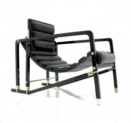 Transat lounge chair by Eileen Gray for Ecart International, 1980s