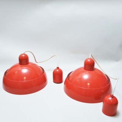 Pair of Circolux hanging lamps by OSRAM, 1970s