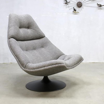 2 x F590 lounge chair by Geoffrey Harcourt for Artifort, 1960s