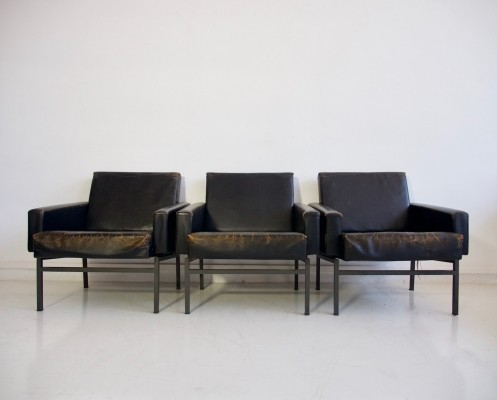 Set of 3 'Conseta' armchairs by Friedrich Wilhelm Moller for COR