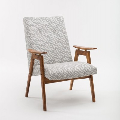 Type 6950 arm chair by J. Šmidek for Ton Czechoslovakia, 1960s