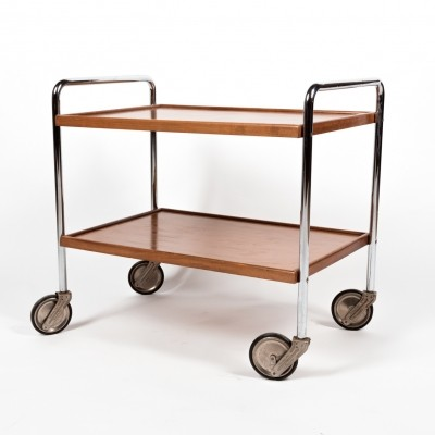 Bauhaus tubular trolley from the Embru factory, 1930s