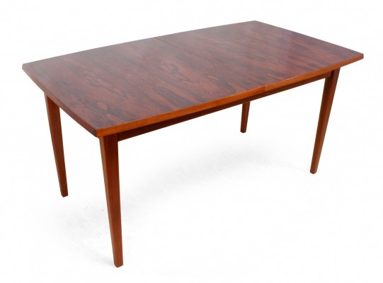 Mid Century Rosewood & Teak Dining Table