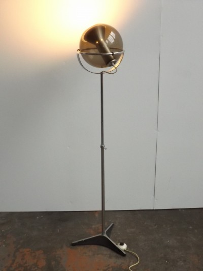 Globe floor lamp by Frank Ligtelijn for Raak Amsterdam, 1960s