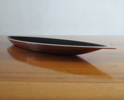 Copper bowl by Gunner Ander for Ystad Klostermetal