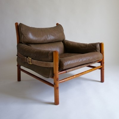 Kontiki arm chair by Arne Norell for Arne Norell AB, 1960s