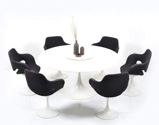 A rare Scandinavian late 1960s Dining-Set