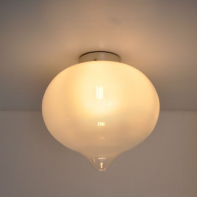 2 x Morning Fog ceiling lamp by Raak Amsterdam, 1970s