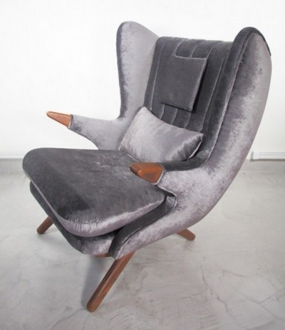 Svend Skipper Wing Chair, 1960s