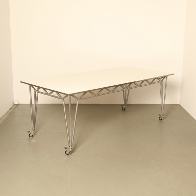 Bridge M table in Steel-Line by System 180 Berlin