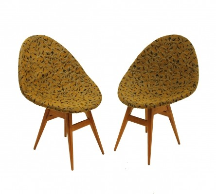 Pair of Shell chairs, 1960s