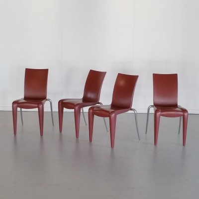 Set of 4 Louis 20 dining chairs by Philippe Starck for Vitra, 1990s