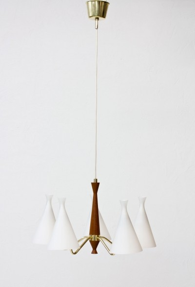 Hanging lamp by Svend Aage Holm Sørensen for ASEA, 1950s