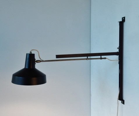 Telescopical wall lamp by Hiemstra Evolux, 1960s