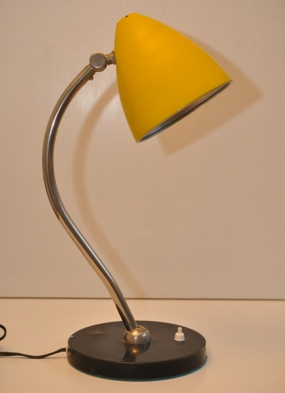 Model 96 desk lamp by H. Busquet for Hala Zeist, 1960s